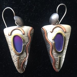 Jewelry - Designer dangle earrings